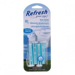 Deodorante per la Macchina California Scents Vent Sticks Fresh Linen Azzurro (2 uds)