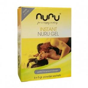 Olio per Massaggio Erotico Instant Nuru (6 uds)