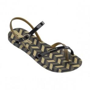 Sandali da Donna Rider Fashion Sand V Nero Oro (Taglia 39)