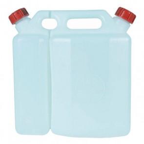 Serbatoio per Carburante Combinato (1,5 L) (3,5 L) (25 x 13 x 27 cm)