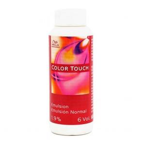 Tintura Permanente Color Touch Emulsion 1,9% 6 Vol Wella 1.9% 6 Vol (60 ml)