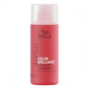 Shampoo Rinforzante del Colore Invigo Color Brilliance Wella Da viaggio (50 Ml)