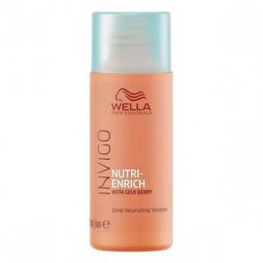 Shampoo Nutriente Invigo Wella Da viaggio (50 Ml)