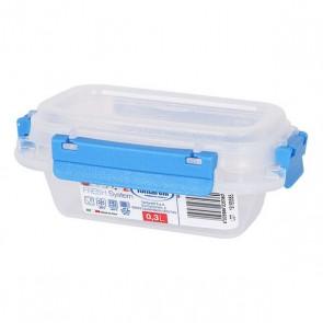 Porta pranzo Ermetico Fresh System Tontarelli 0,3 L Plastica Trasparente (9,5 x 14 x 5,7 cm)