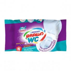 Salviettine Antibatteriche Biodegradabili Brawn Wc Fria (8 uds)