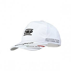 Cappellino per Bambini OMP PR918C020 Bianco (Taglia unica)