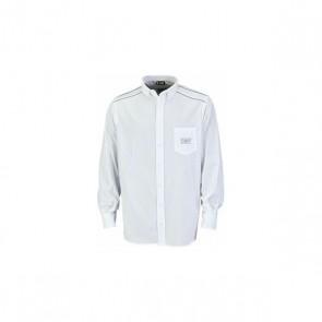 Camicia a Maniche Lunghe Uomo OMP Bianco