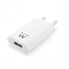 Caricabatterie da Parete Ewent EW1209 1000 mAh Bianco