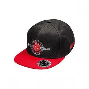 Cappello Sportivo Sparco Rebel Nero/Rosso (Taglia unica)