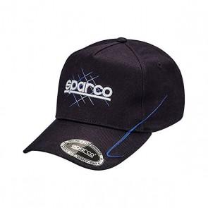 Cappello Sportivo Sparco 40th Azzurro (Taglia unica)