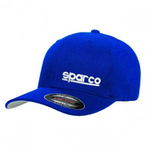 Cappello Sportivo Sparco Flexfit Azzurro (Taglia S/M)
