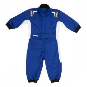 Tuta Racing per Bambini Sparco Eagle Azzurro (1-2 anni)