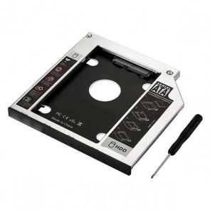 Adattatore HDD/SSD SATA per Unità Ottica (9,5 mm) Ewent EW7003
