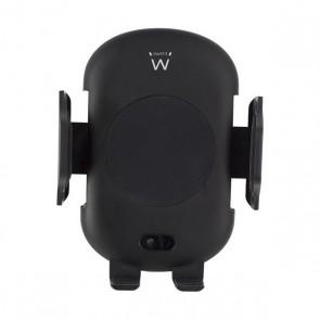 Supporto Caricabatterie Senza Fili per Auto Ewent EW1191 Nero