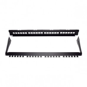 Patch Panel 24 Porte UTP Categoria 5e/6/6e WP WPC-PAN-BUP24 Nero