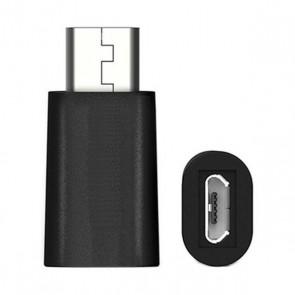 Adattatore USB C con Micro USB 2.0 Ewent EW9645 5V Nero