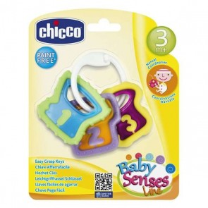 Sonaglio Easy Grasp Keys Chicco (12 x 11 x 2,5 cm)