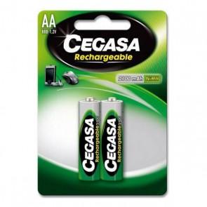 Batterie Ricaricabili Cegasa HR6 2100 mAh (2 uds)