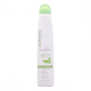 Deodorante Spray Aloe Vera Fresh Sensitive Babaria (200 ml)