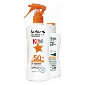 Set Protezione Solare Kids Babaria Spf 50+ (2 pcs)