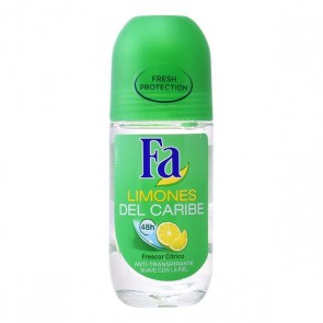 Deodorante Roll-On Limoni dei Caraibi Fa (50 ml)
