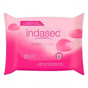 Salviettine Intime Limpia & Fresca Indasec (20 uds)