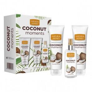 Set per la Cura Personale Coconut Moments Natural Honey (3 pcs)