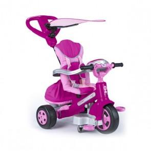 Triciclo Feber Baby Plus Music (69 x 52 x 96 cm) Rosa