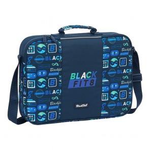 Portadocumenti BlackFit8 Retro 6 L Blu Marino
