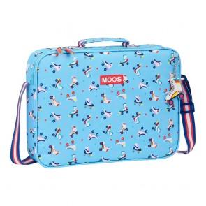 Portadocumenti Rollers Moos Multicolore 6 L Azzurro Chiaro