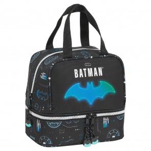 Portamerenda Batman Bat-Tech Nero (15 L)