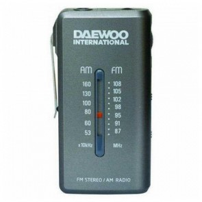 Radio Transistor Daewoo DRP-9 AM FM Grigio