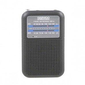 Radio Portatile Daewoo DRP-8B Nero