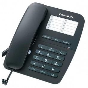 Telefono Senza Fili Daewoo DTC-240 Nero