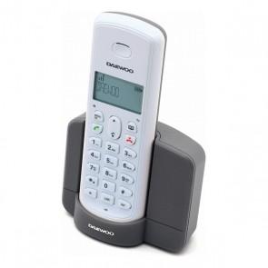 Telefono Senza Fili Daewoo DTD-1350 DECT Bianco