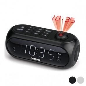 Radiosveglia con proiettore LCD Daewoo DCP-490 180º FM