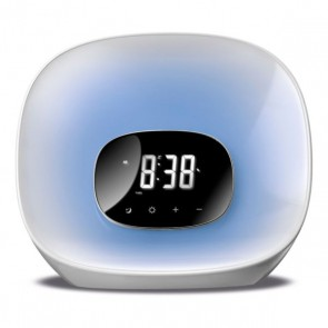 Radio Sveglia Daewoo DCR-470 LED Bianco