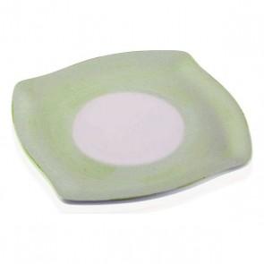 Piatto Ceramică Bianco/Verde