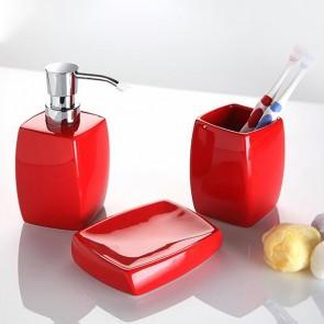 portasapone Ceramică Roșie