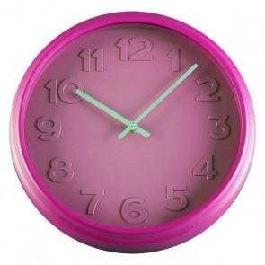 Orologio da Parete polipropilene (6 x 32 x 32 cm) Rosa