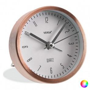 Orologio-Sveglia Alluminio (3,9 x 9 x 9 cm)