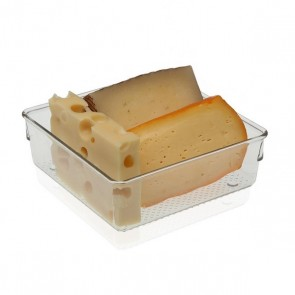 Divisori per Cassetti Plastica (15,3 x 5,6 x 15,3 cm) Frigo