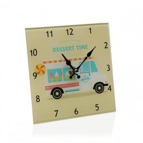 Orologio da Tavolo Geam (4 x 15 x 15 cm)