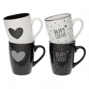 Tazza Mug Hearts Gres