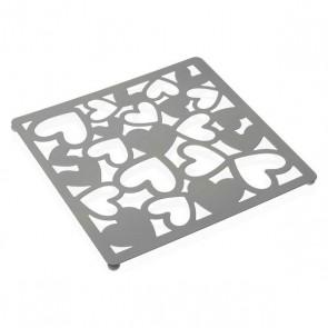 Sottopentola Kamira Metallo (22 x 1 x 22 cm) Bianco