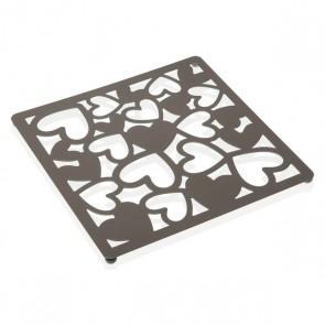 Sottopentola Kamira Metallo (22 x 1 x 22 cm) Grigio