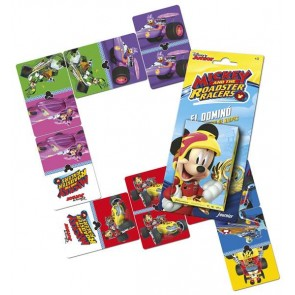 Carte da Gioco Mickey And The Roadsters Fournier (ES) Domino