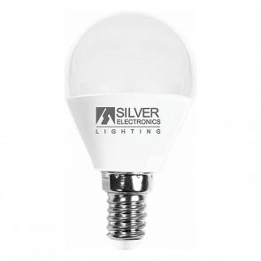 Lampadina LED Sferica Silver Electronics E14 7W Luce calda
