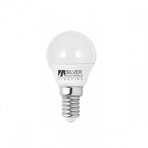Lampadina LED Sferica Silver Electronics ECO E14 4W Luce calda