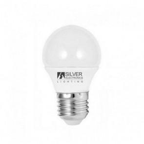 Lampadina LED Sferica Silver Electronics ECO E27 5W Luce bianca